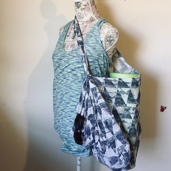 Free People lightweight gauze ECO Yoga Tote Bag